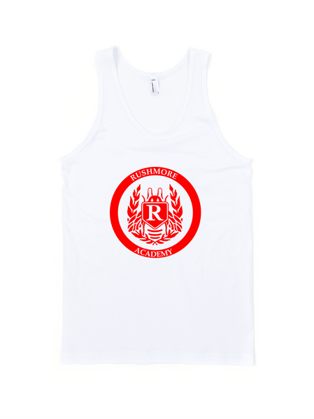 Rushmore Academy Jersey Tank Top Unisex Max Fischer - Wes-Anderson.com