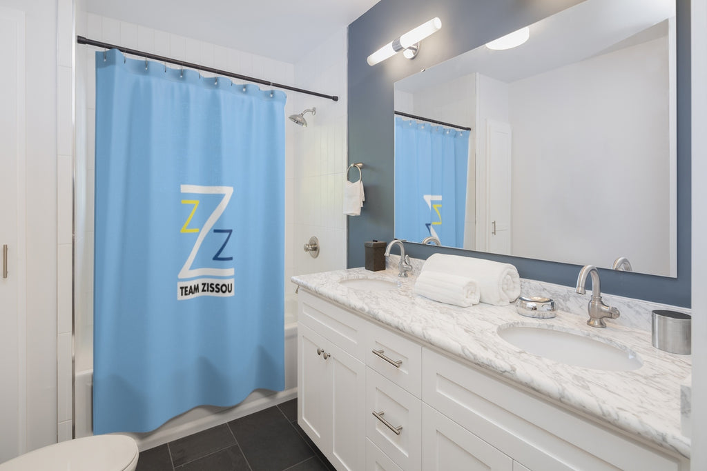 Team Zissou Shower Curtains