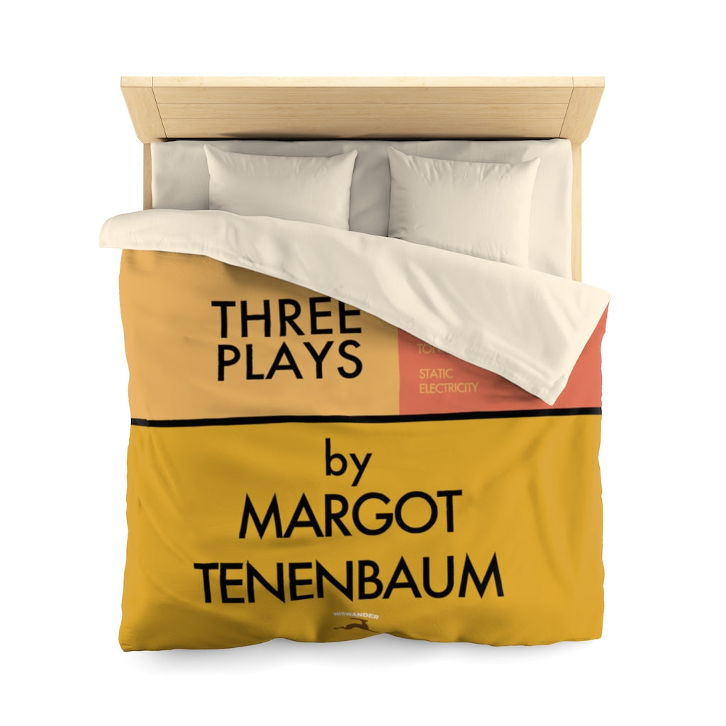 Three Plays Duvet Cover