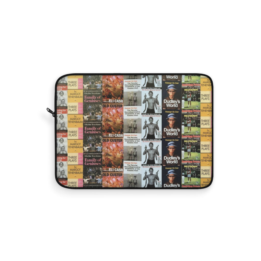 The Royal Tenenbaums Books Laptop Sleeve