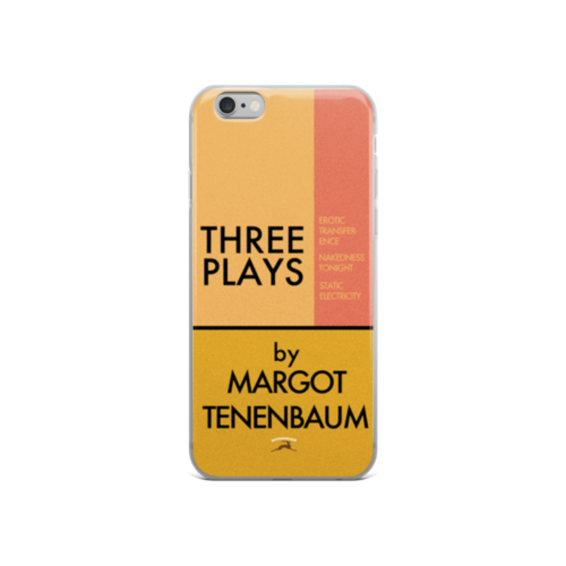 Three Plays By Margot Tenenbaum iPhone Case Royal Tenenbaums