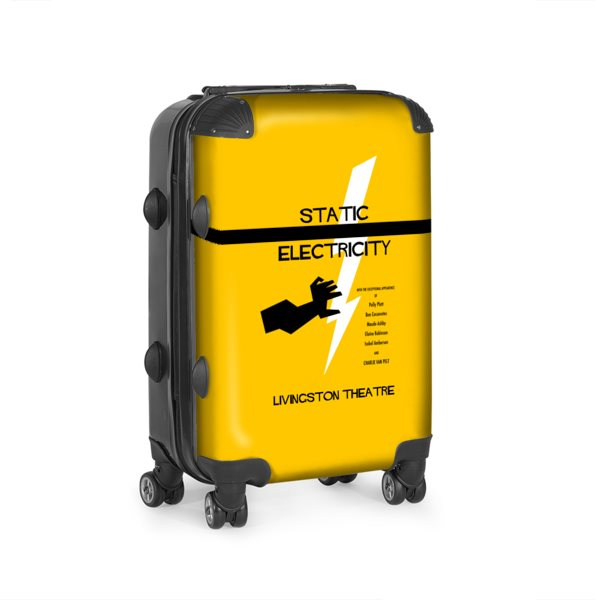 Static Electricity Suitcase
