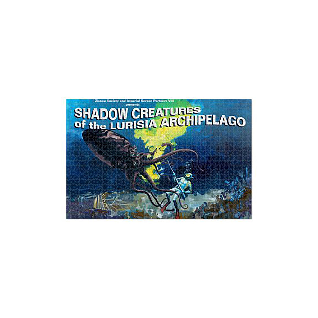 Shadows Creatures Of The Lurisia Archipelago Jigsaw Puzzle