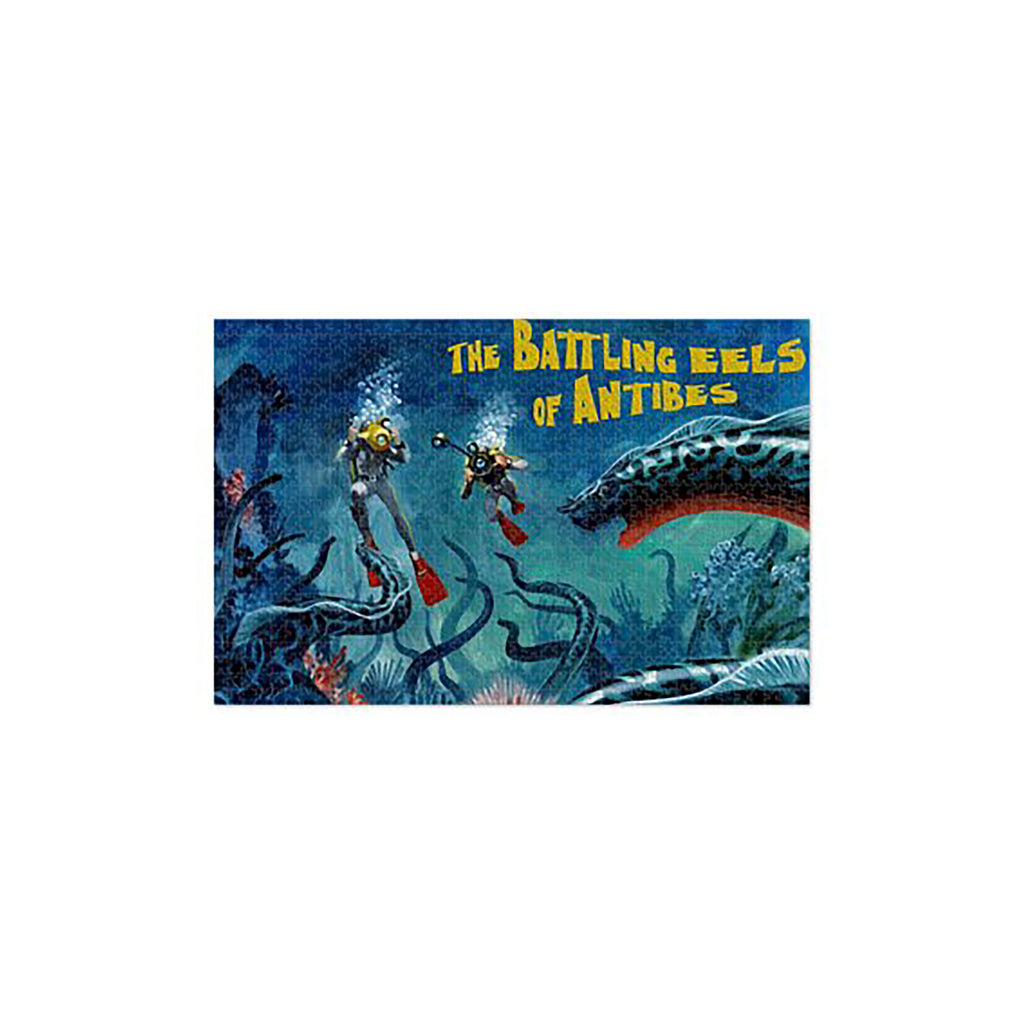 The Battling Eels Of Antibes Jigsaw Puzzle