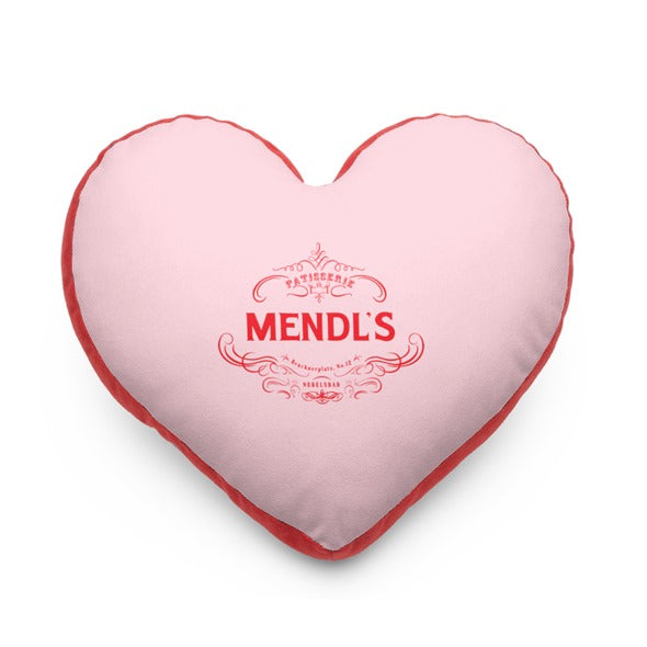 Mendl's Patisserie Heart Pillow