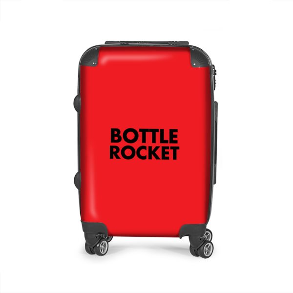 Bottle Rocket Suitcase