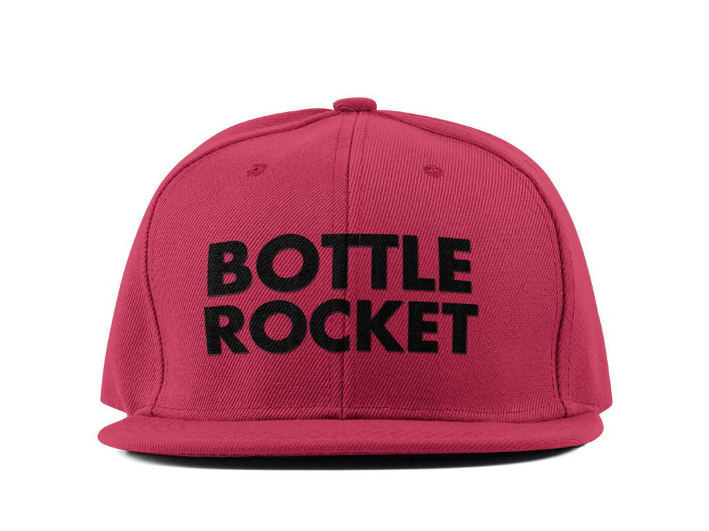 Bottle Rocket Snapback Hat