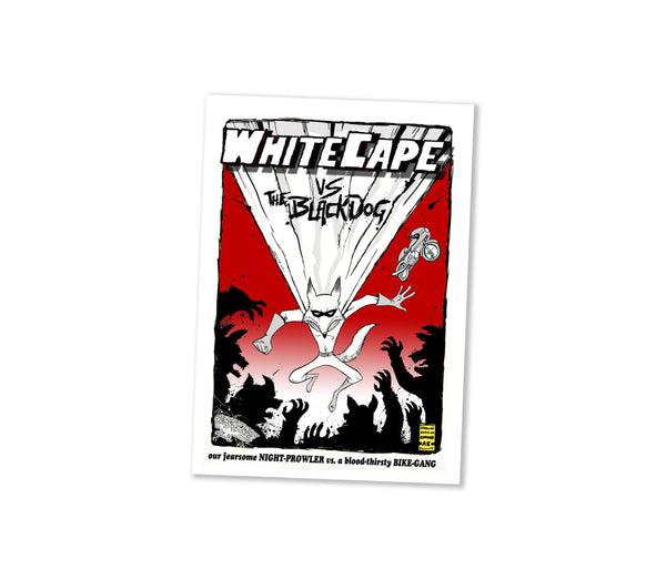 White Cape Comic Fantastic Mr Fox - Wes-Anderson.com