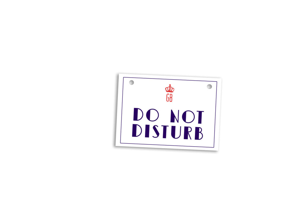 Do Not Disturb Door Anger Budapest Hotel - Wes-Anderson.com  - 1