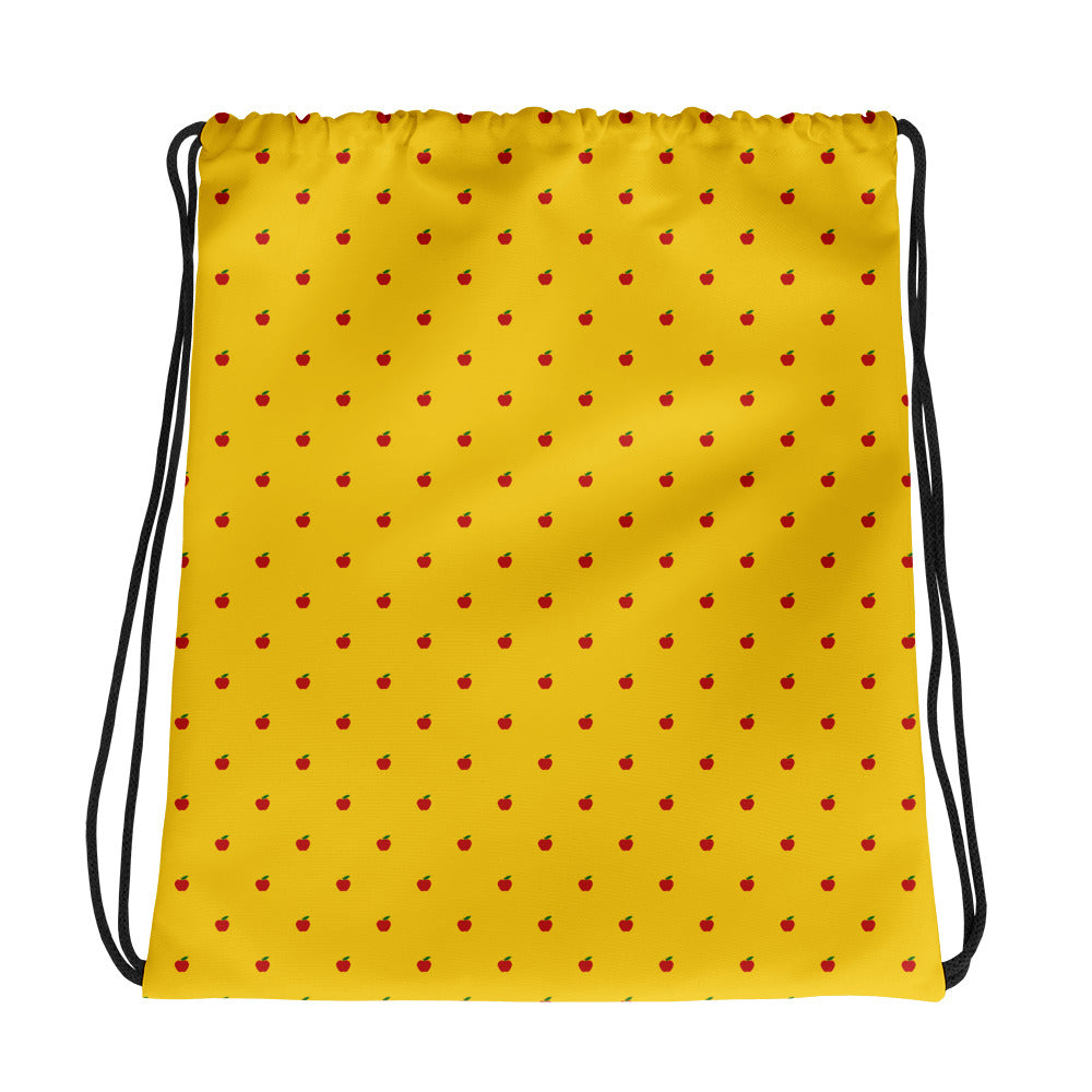 Mrs Fox Drawstring Bag