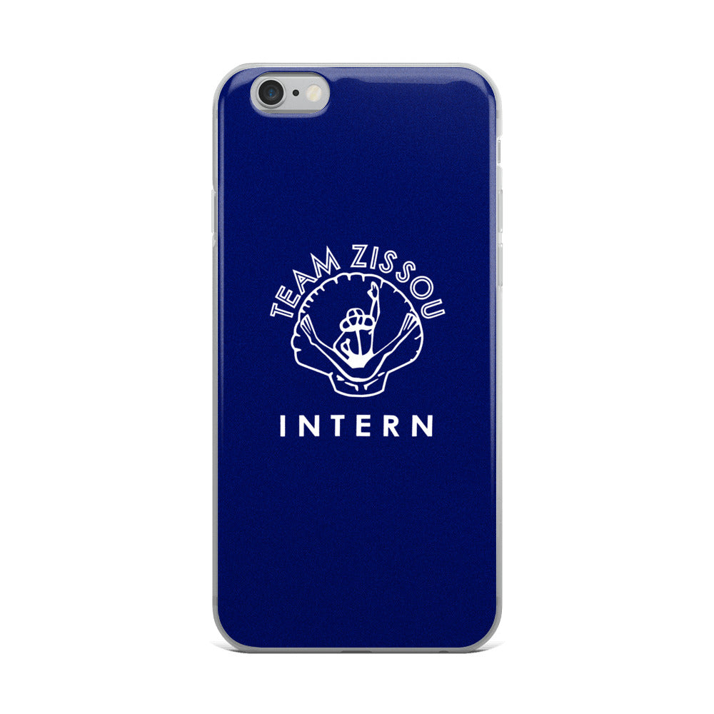 Team Zissou Intern Iphone Case The Society Of The
