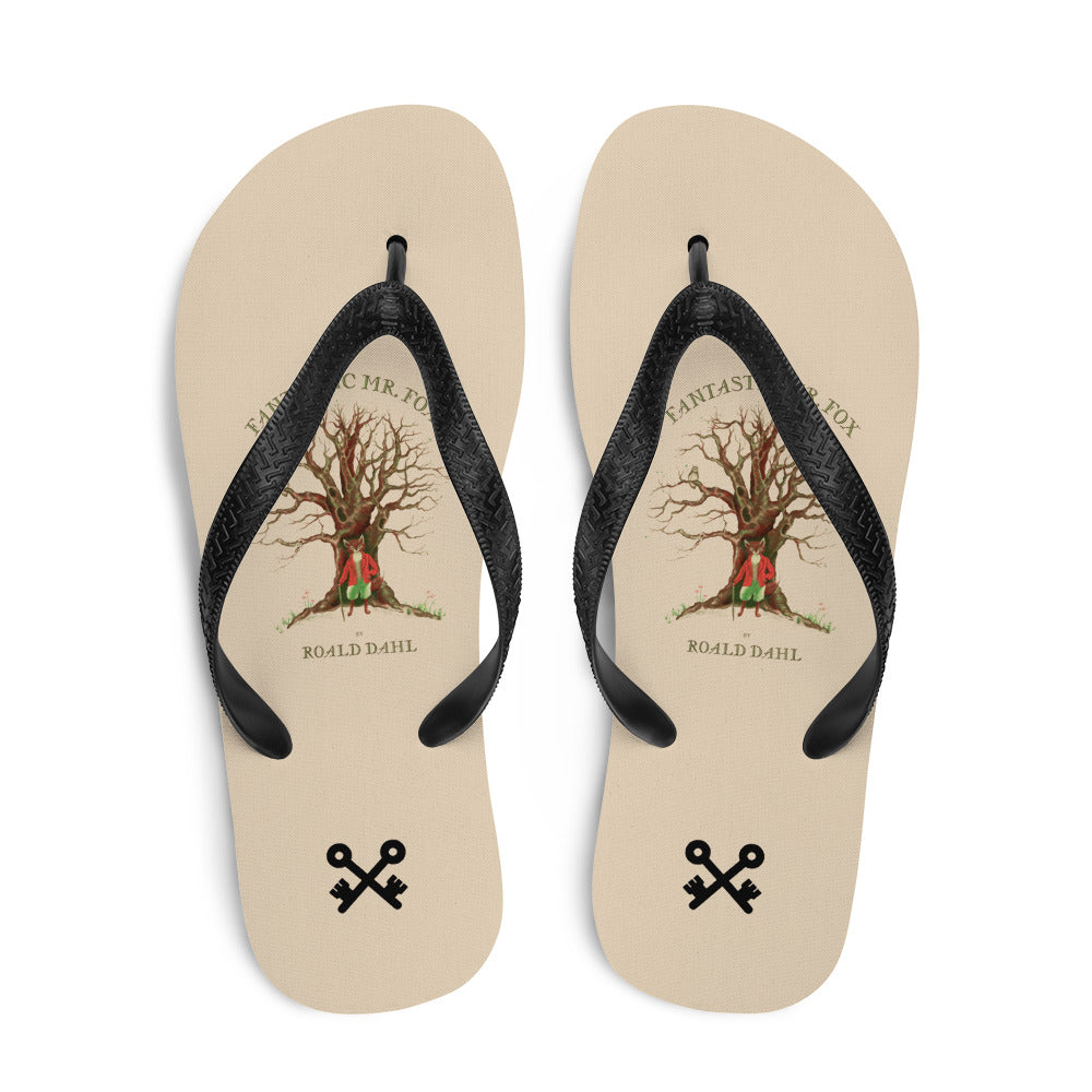Fantastic Mr Fox Flip-Flops