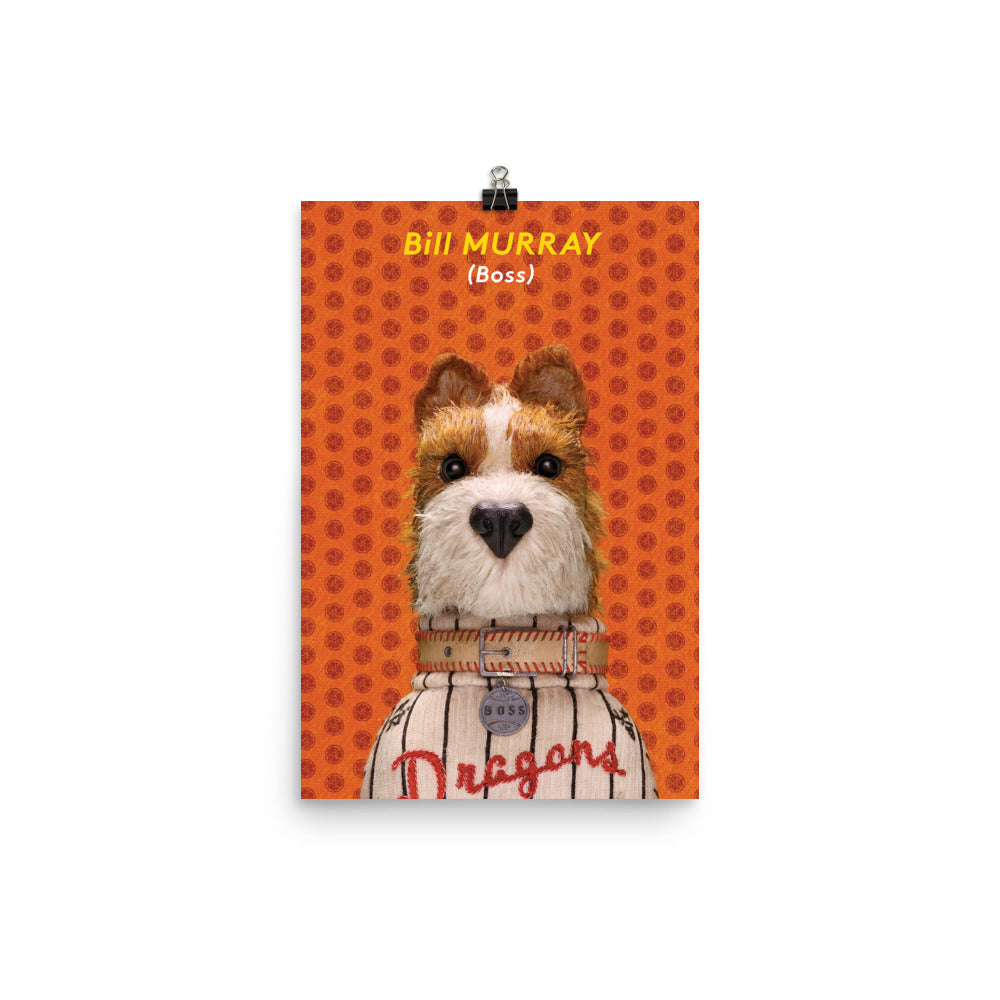 Boss Poster Isle Of Dogs