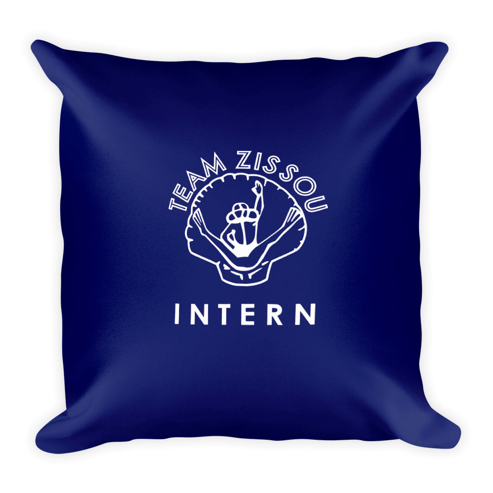 Team Zissou Intern Square Pillow