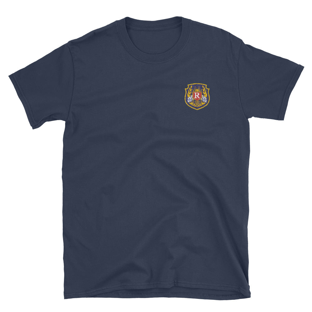 Rushmore Embroidered Short-Sleeve Unisex T-Shirt