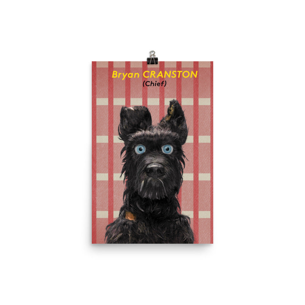Chief Poster Isle Of Dogs
