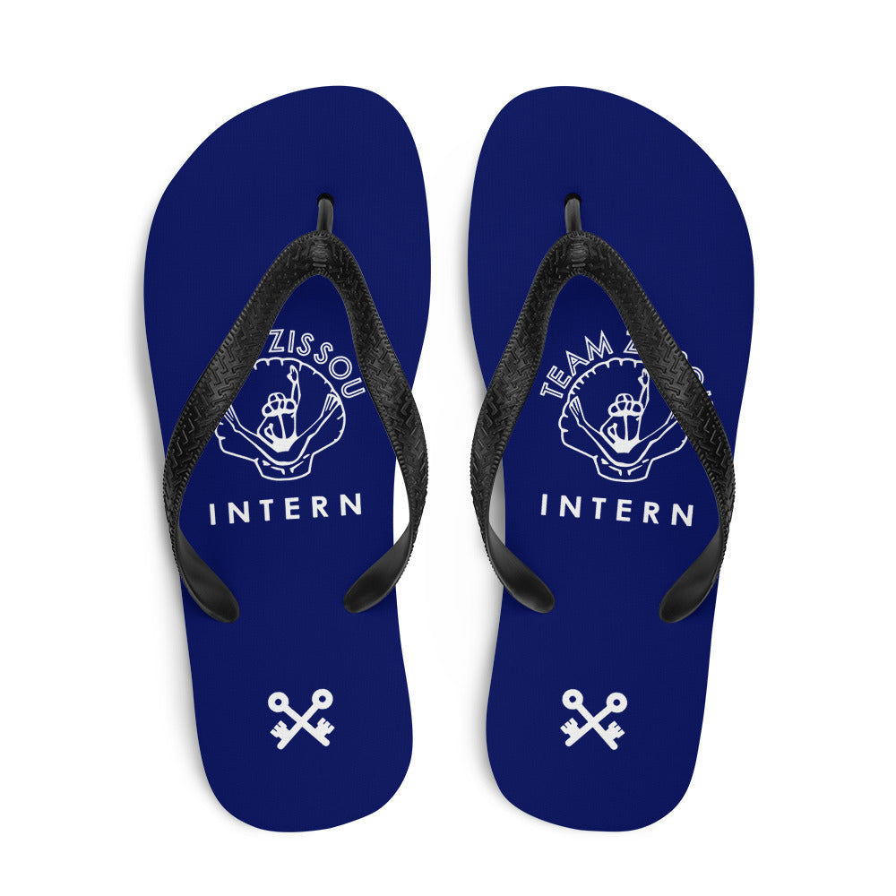 Team Zissou Intern Flip-Flops