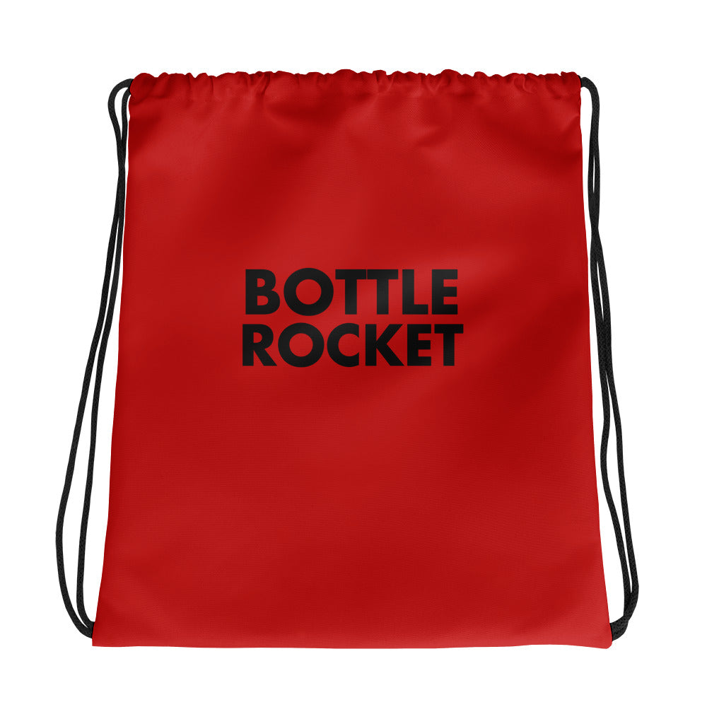 Bottle Rocket Drawstring Bag