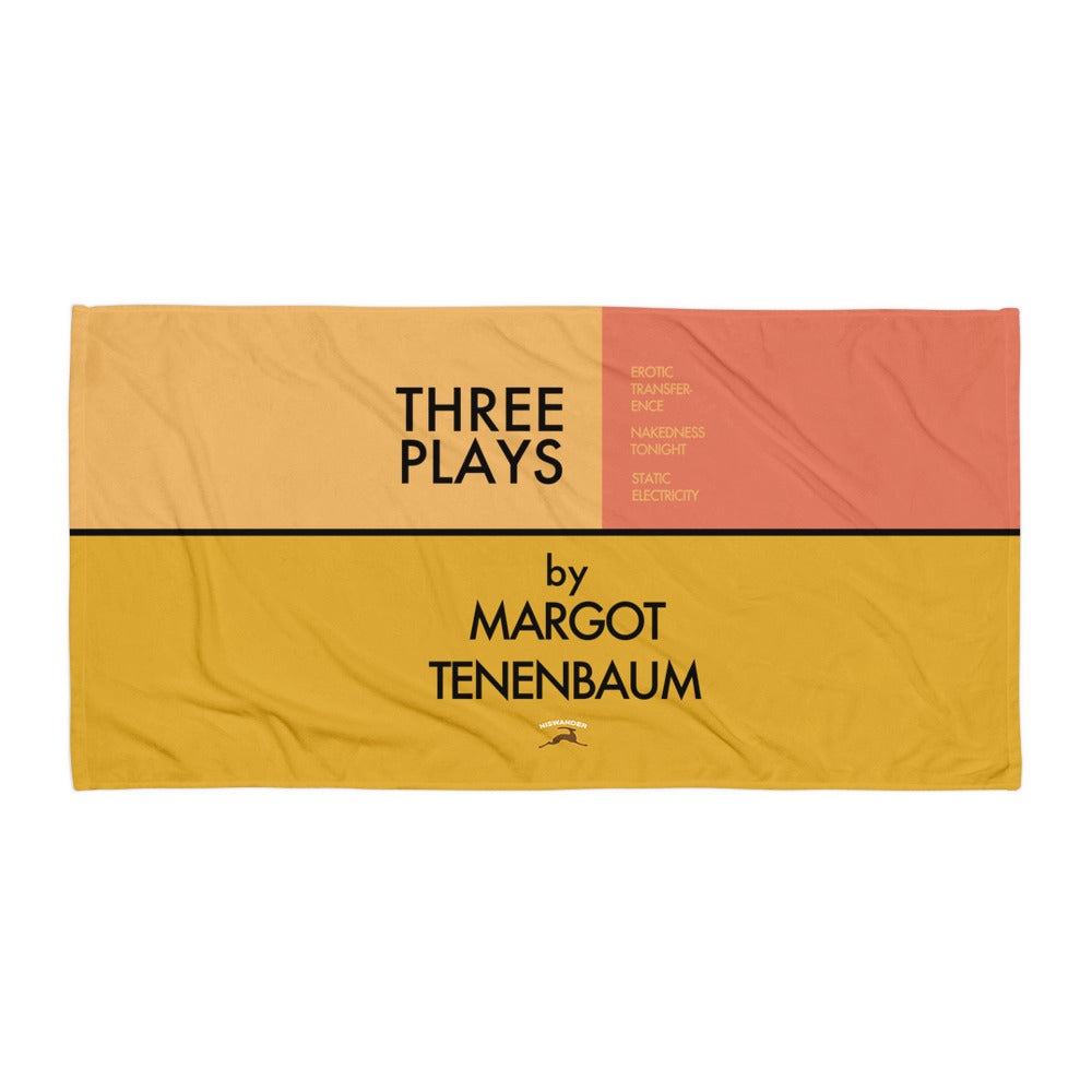 Three Three Plays Towel