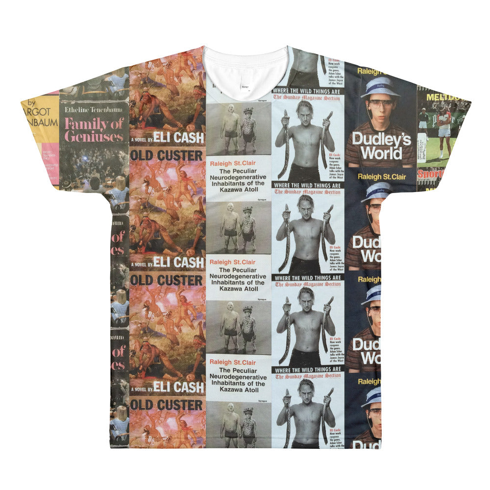 The Royal Tenenbaums Books All-Over Printed T-Shirt