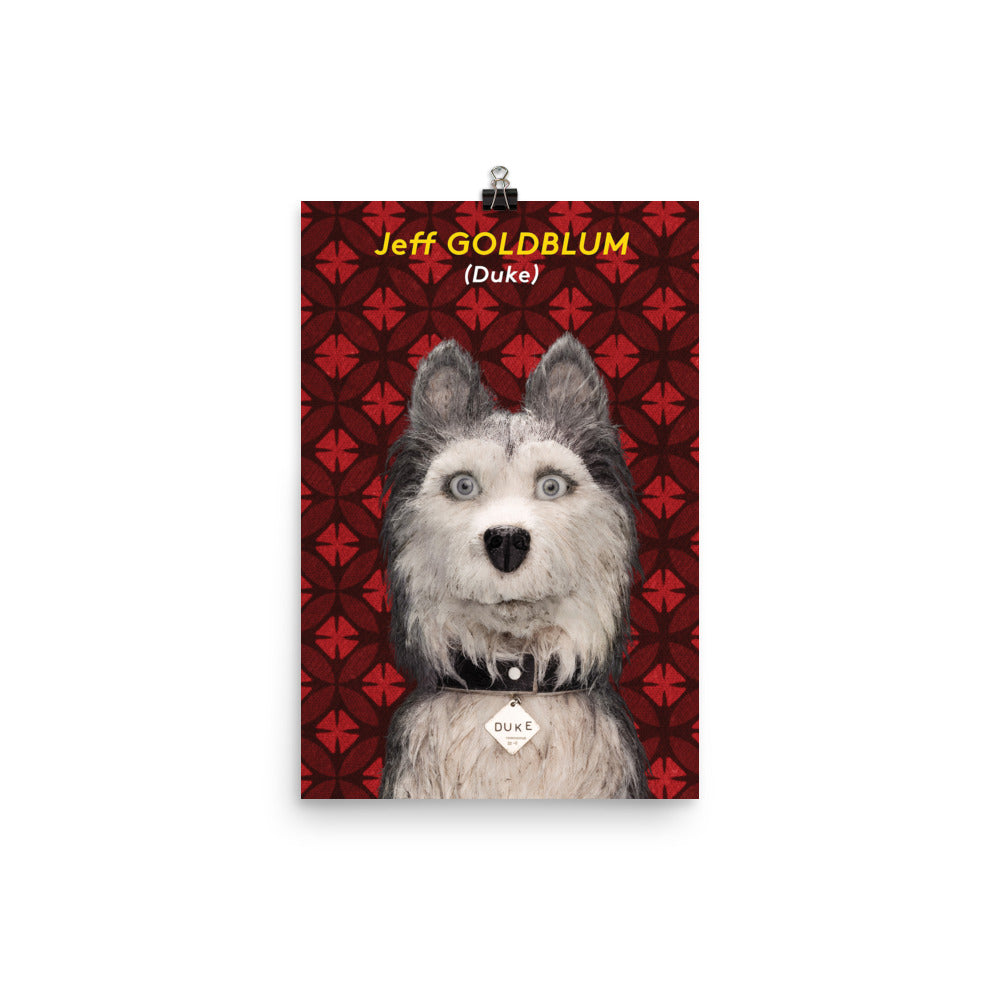 Duke Poster Isle Of Dogs