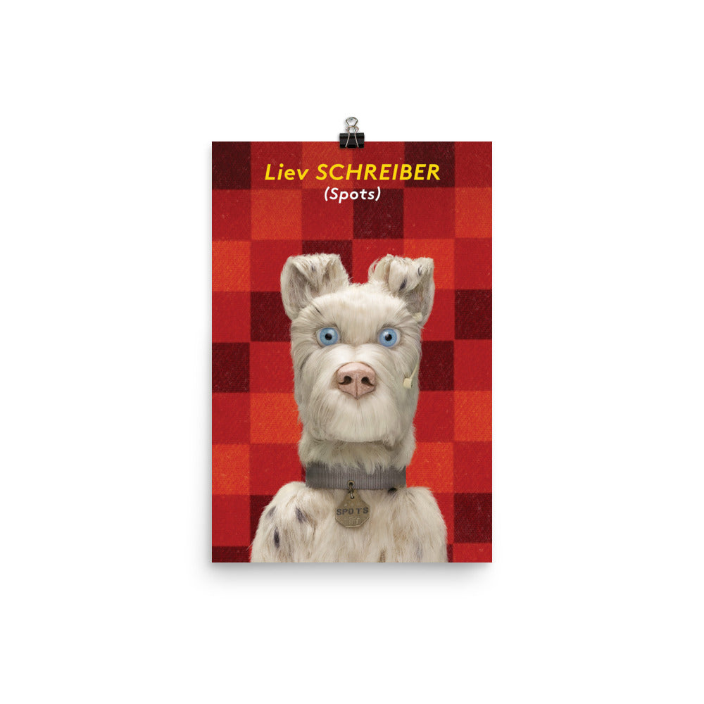 Spots Poster Isle Of Dogs The Society Of The Crossed Keys