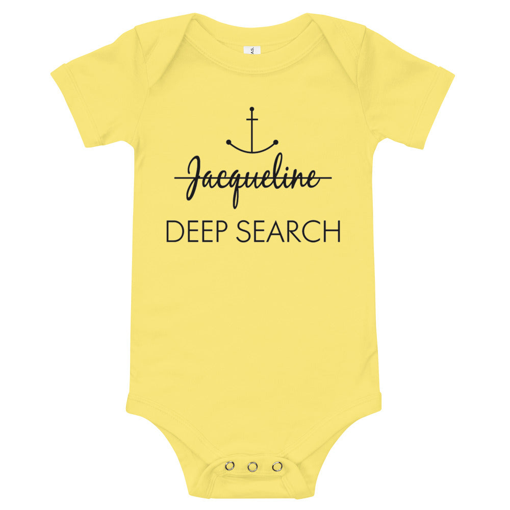 Jacqueline Deep Search Infant Bodysuit