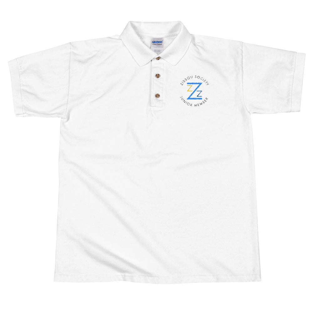 Zissou Society Junior Member Embroidered Polo Shirt