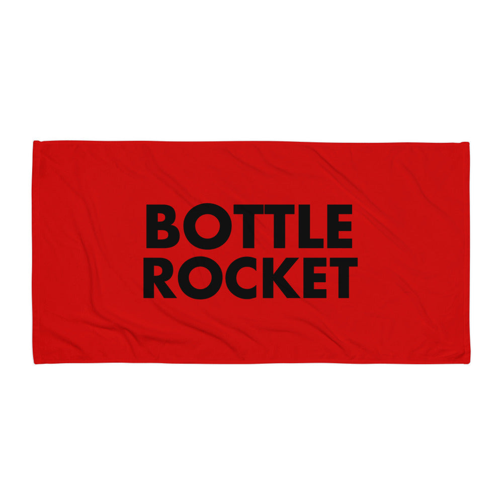 Bottle Rocket Towel