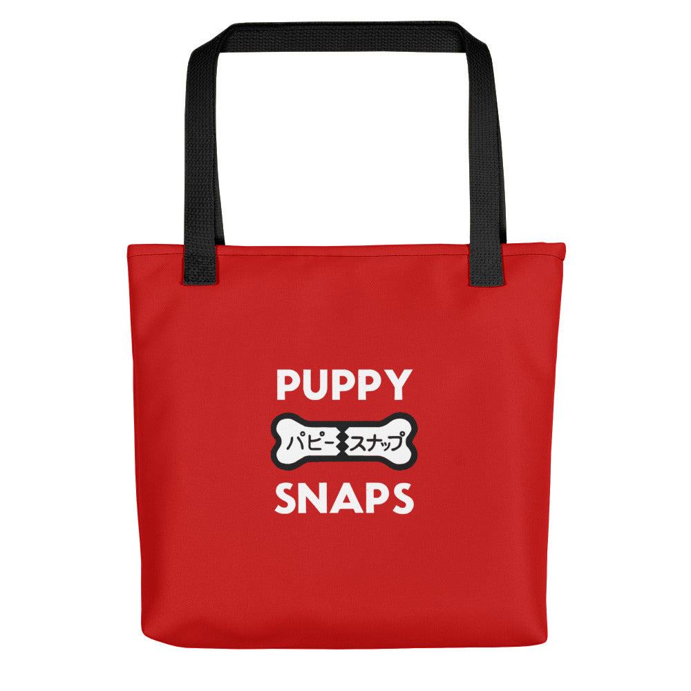 Puppy Snaps Tote Bag Isle Of Dogs
