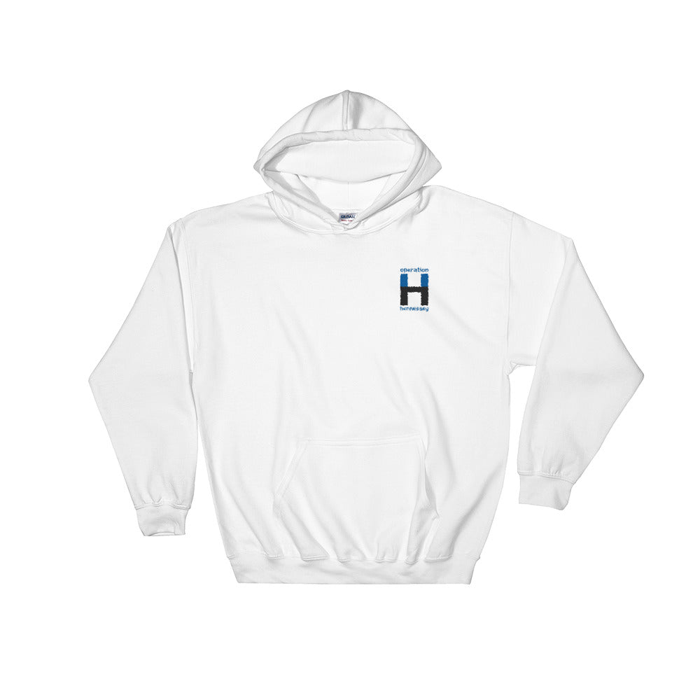 Operation Hennessey Embroidered Hooded Sweatshirt