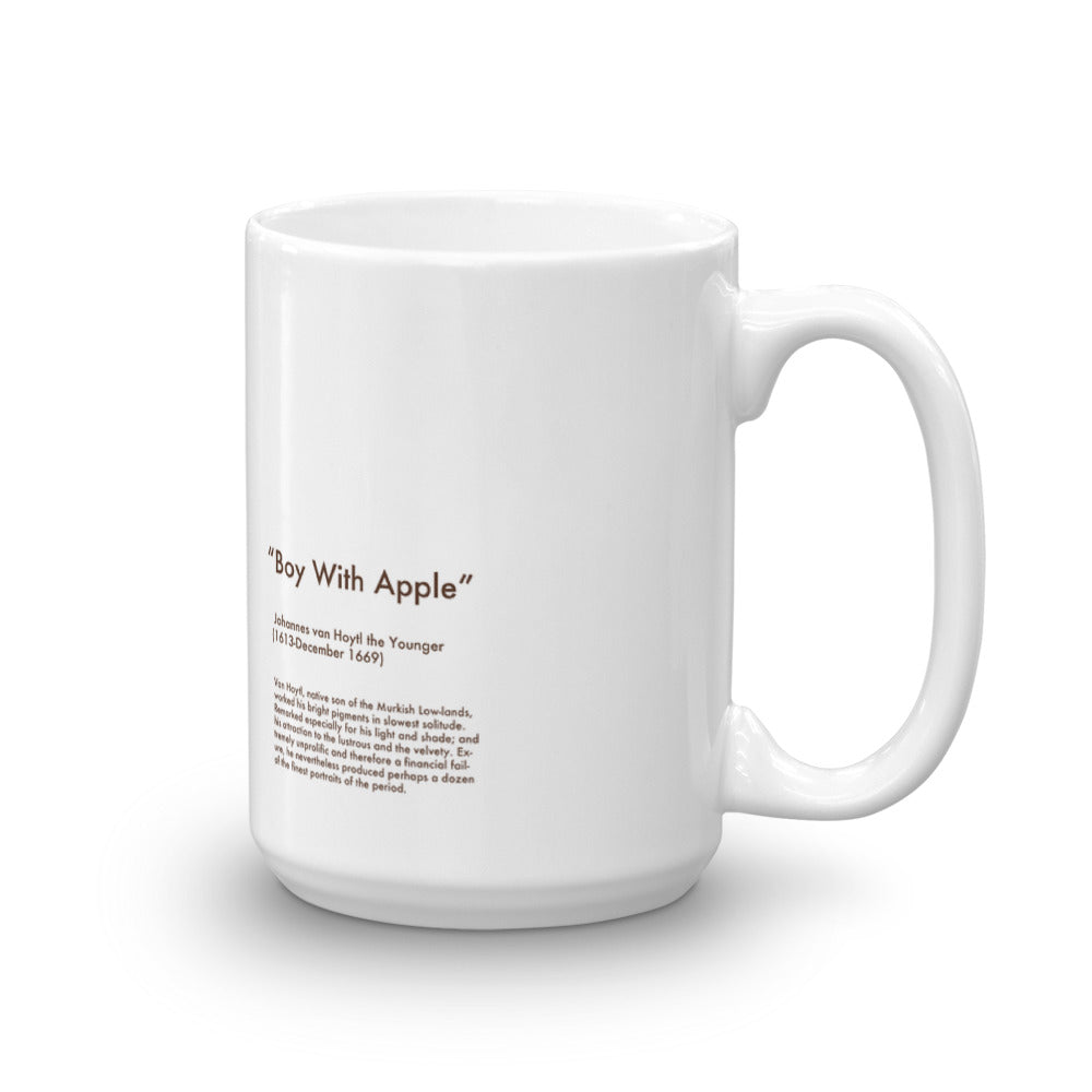 Boy With Apple Mug