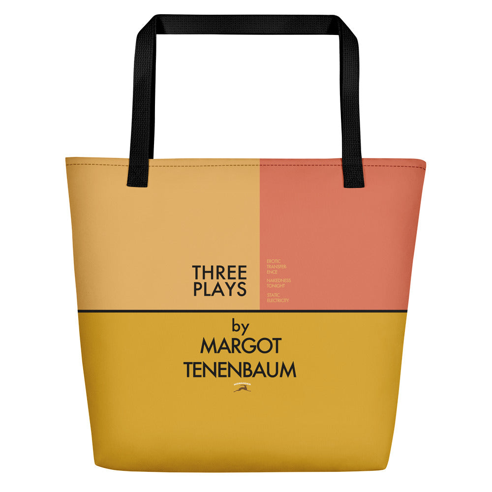 Three Plays Beach Bag