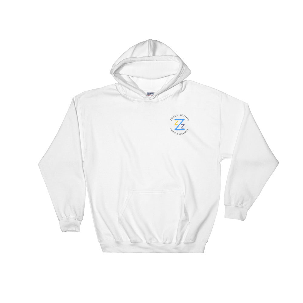Zissou Society Junior Member Embroidered Hooded Sweatshirt