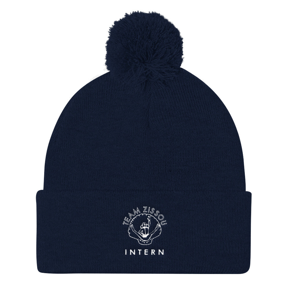 Team Zissou Intern Pom Pom Knit Cap