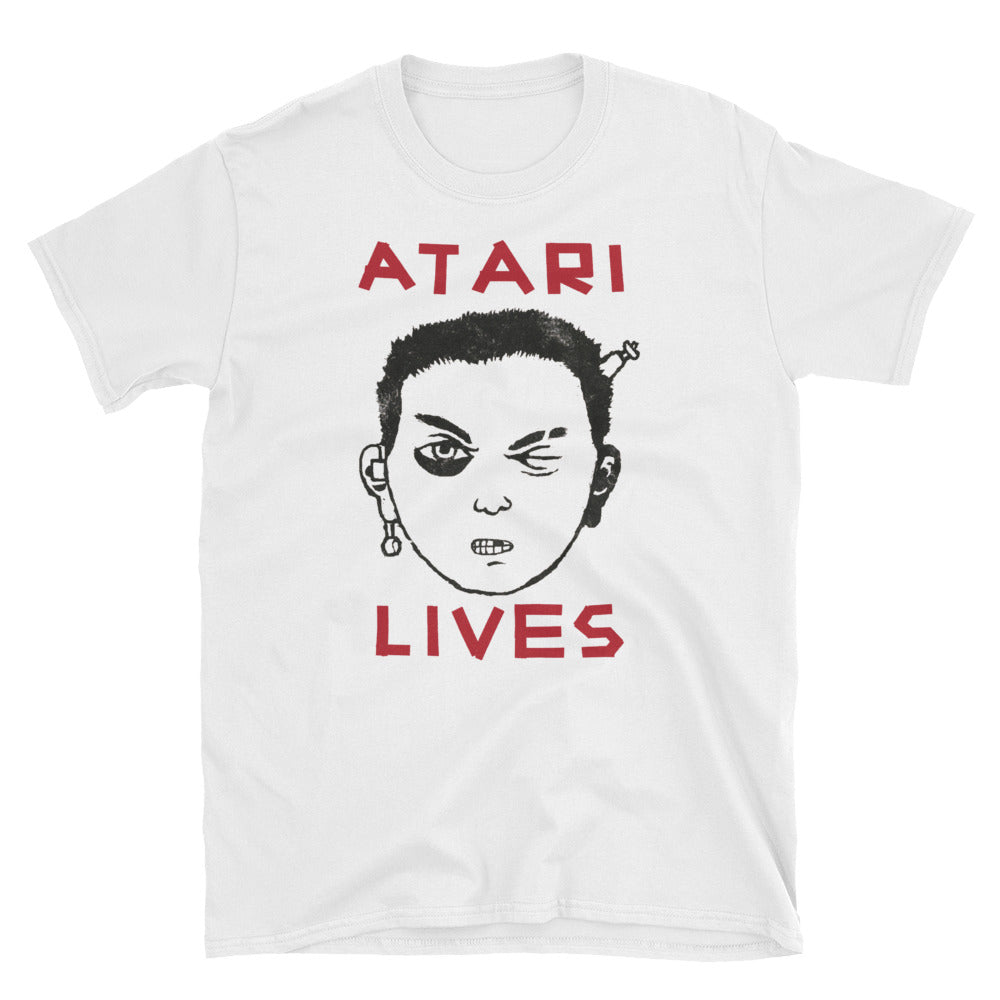 Atari Lives Short-Sleeve Unisex T-Shirt Isle Of Dogs