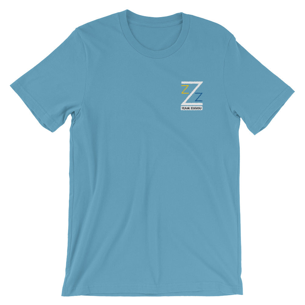 Team Zissou Embroidered Short-Sleeve Unisex T-Shirt