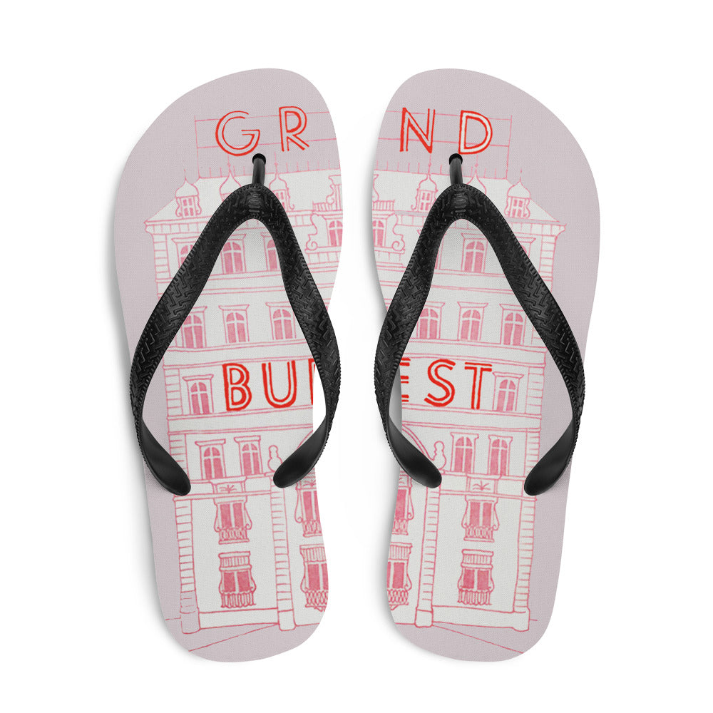 The Grand Budapest Hotel Flip-Flops