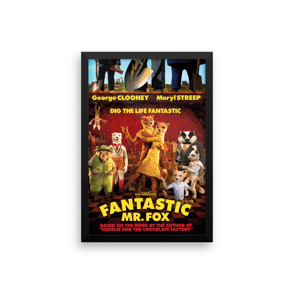 Fantastic Mr Fox Framed Poster