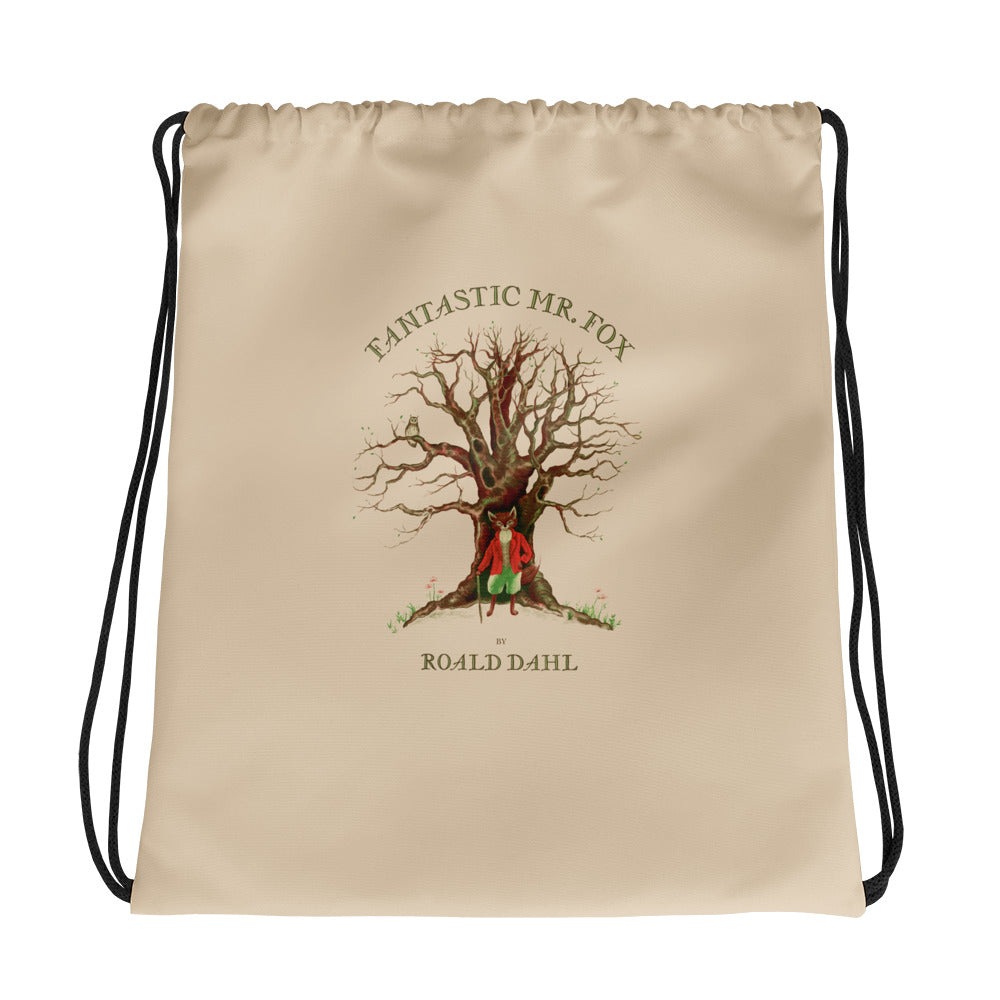 Fantastic Mr Fox Drawstring Bag