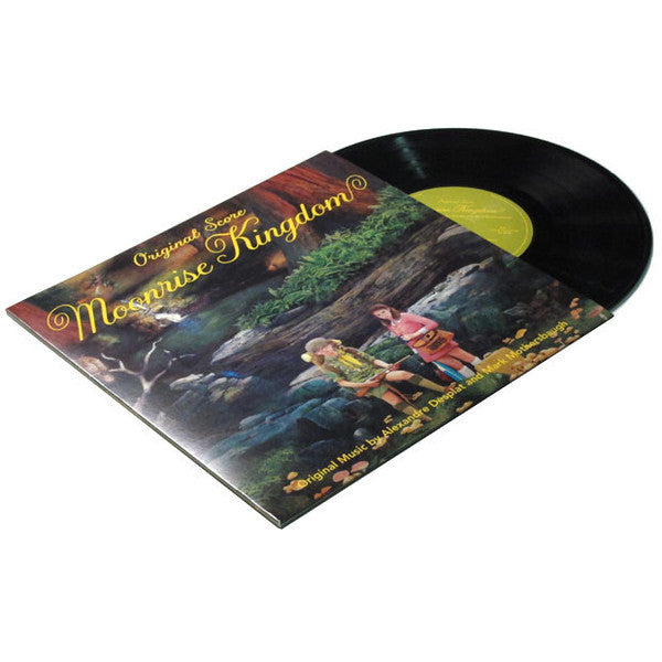 Moonrise Kingdom Original Soundtrack Vinyl - Wes-Anderson.com