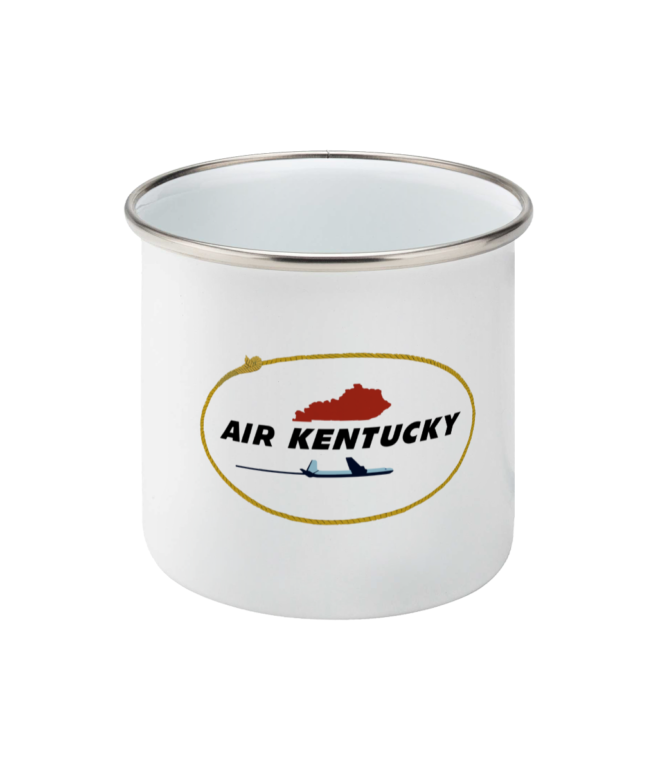 Air Kentucky Enamel Mug