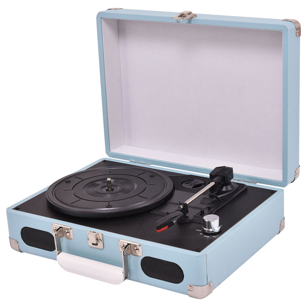 Barrington Portable Vinyl Turntable Moonrise Kingdom