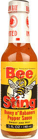 Bee Sting Brand Honey N' Habanero Pepper Sauce