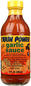 Cajun Power Garlic Hot Sauce