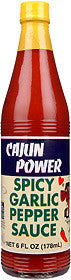 Cajun Power Spicy Garlic Pepper Hot Sauce