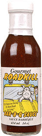 Gourmet Road Kill BBQ Sauce