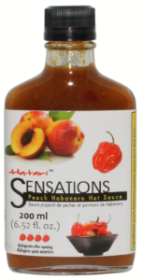 Sensations Peach Habanero Hot Sauce