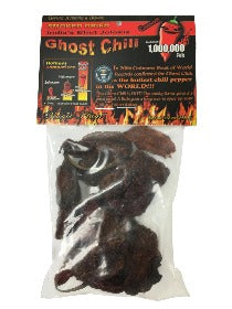 Smoked Dried Ghost Chili Pods