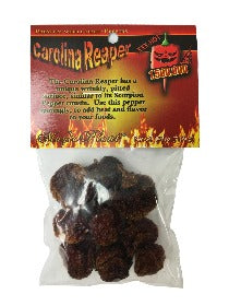 Carolina Reaper Dried Pepper Pods